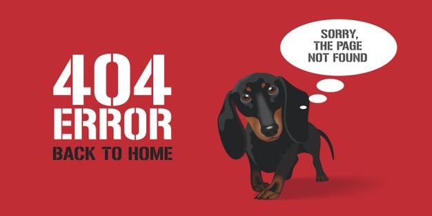 404 A keresett oldal nem található