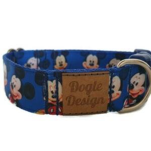 kék mickey kutya nyakörv3