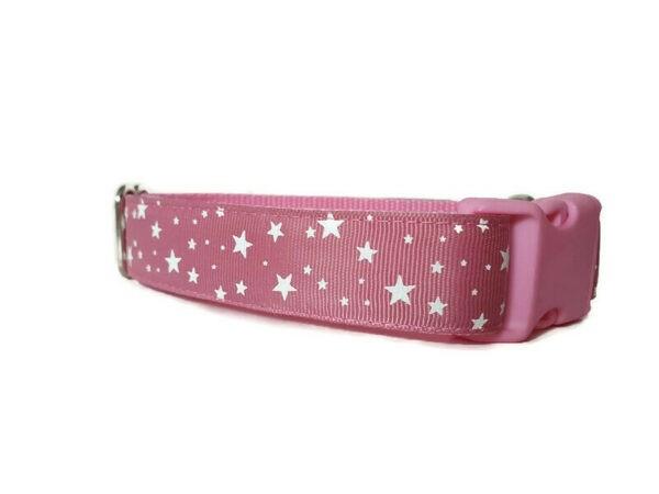 pink csillagos kutya nyakörv3